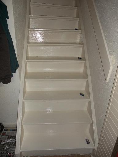 Trap de maakbare wereld - Geschilderde trapmodel ...